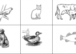 Printable Spanish activities - Listen and draw