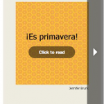 Spanish ebook - ¡Es primavera!