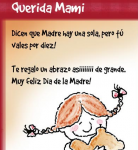 Spanish Mothers Day Cards - Printables to Celebrate El Da de la Madre