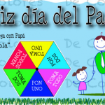 Spanish Father's Day Card with Simple Game is a Great Language Activity