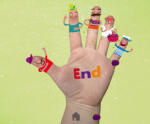 Free Spanish iPad and iPhone App Teaches Finger Play -  Plums Rhyme
