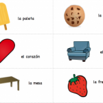 Printable Spanish Cards - Rhyming Words from Spanish Playground