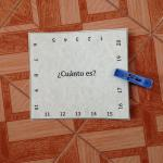 Printable Spanish Clothespin Activities for Numbers, Vowels and Math