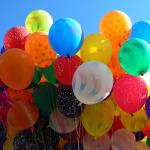 Colors in Spanish - Follow the colors through the balloons