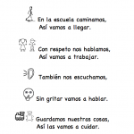 Class Rules in Spanish - Rhyme, Activity and Printables
