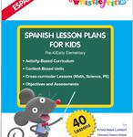 Spanish Lesson Plans for Kids from Whistlefritz