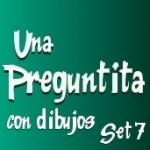 Printable Spanish Questions with Pictures - Una Preguntita 7