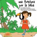 Spanish Story  Book from Kids Yoga Stories Teaches Language and Yoga