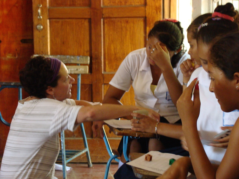 In addition to Spanish Playground, I work with education workshops in Nicaragua.