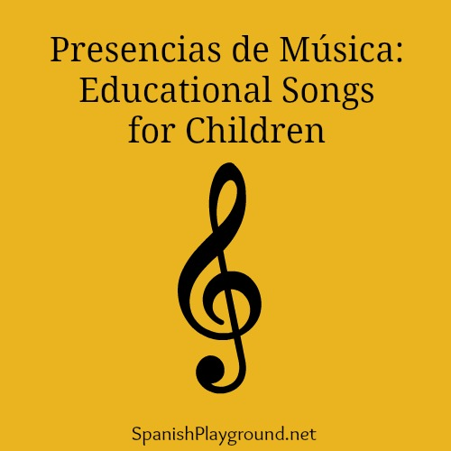 Educational songs for children from Presencias de Musica.