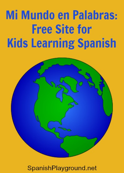 Spanish website for kids with games and audio from el Centro Virtual Cervantes.