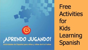 Activities for teaching children Spanish.