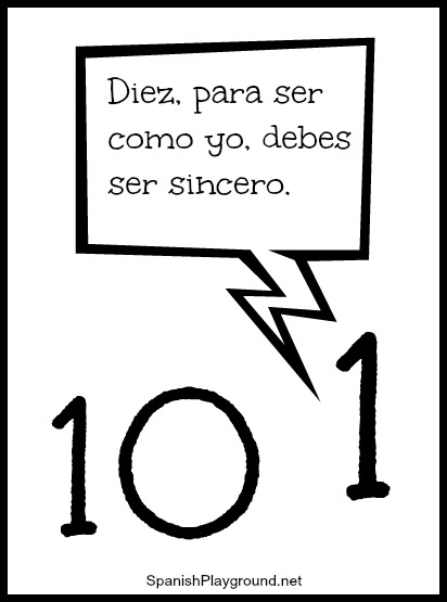 11 short jokes for children learning Spanish.