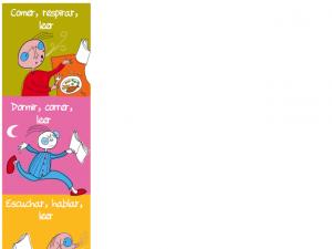 Spanish for children bookmark