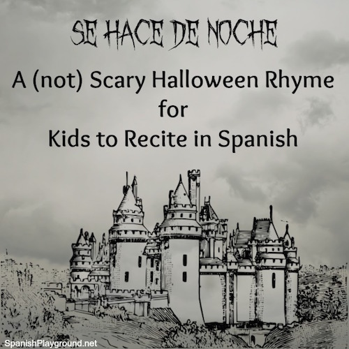A Spanish joke for kids to recite at Halloween.