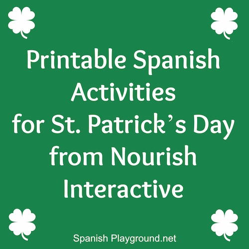 Activities for St. Patrick's Day in Spanish