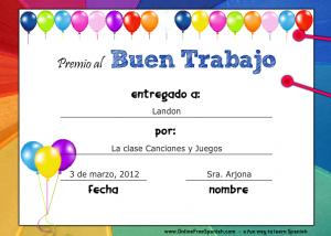 Spanish language certificate template gallery certificate design spanish language certificate template images certificate design certificate template in spanish language best design sertificate certificate yadclub Gallery