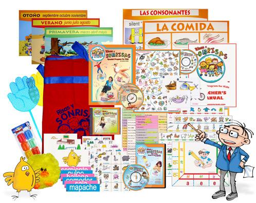 Spanish curriculum Risas y Sonrisas