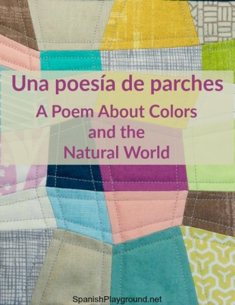 This Spanish poem for children has color and natural world vocabulary.