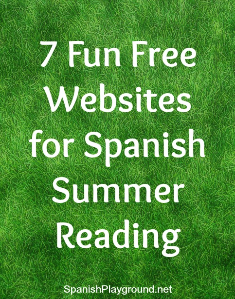7 Fun Free Websites to Keep Kids Reading in Spanish