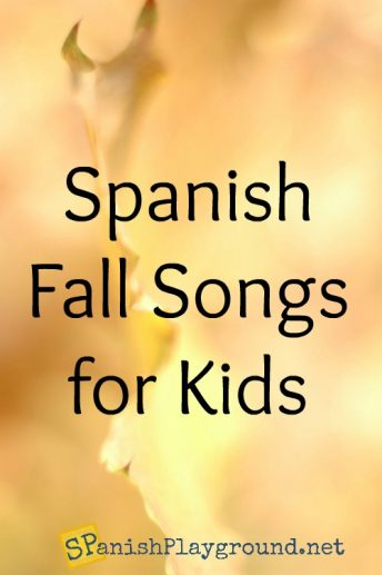 These Spanish fall songs for children teach vocabulary related to seaons and the weather.