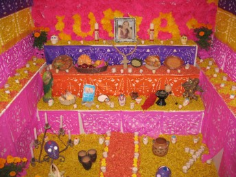 Dia de muertos activity for kids learning Spanish
