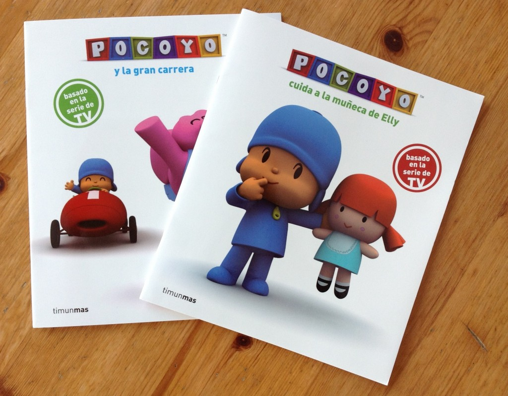 Spanish books for kids pocoyo