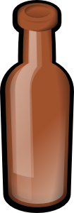 recycling brown_Bottle