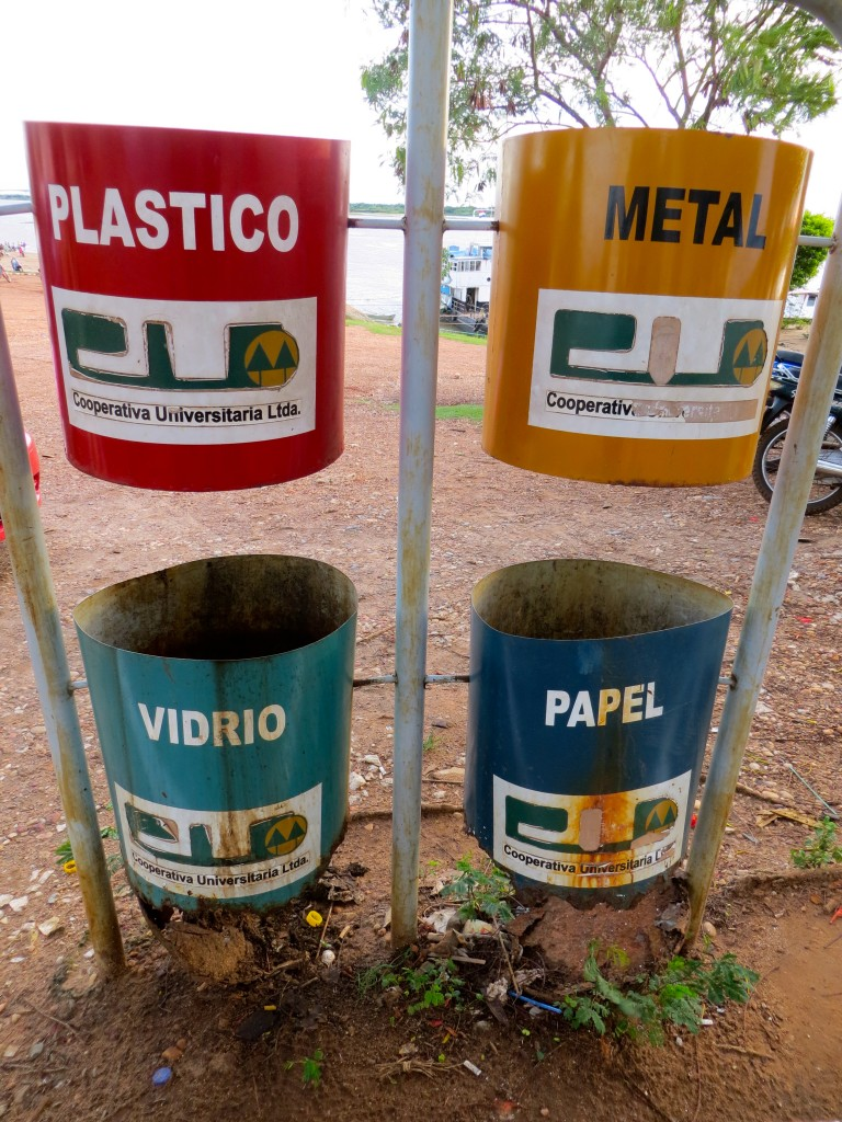 spanish each day recycling