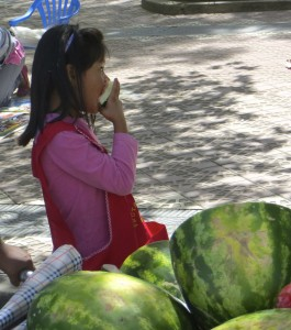 spanish earth day watermelon