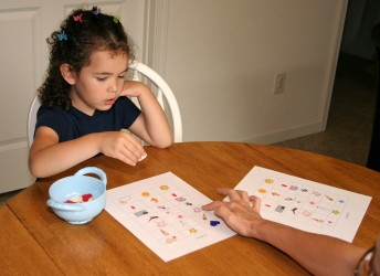 spanish games for kids july