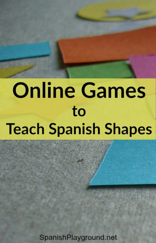 Three great resources for teaching kids shapes in Spanish online.