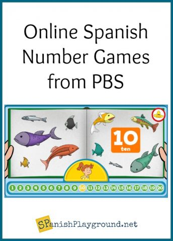These online Spanish number games teach kids to count.