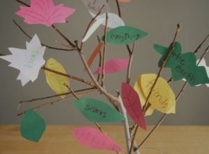 Spanish Thanksgiving crafts are a fun way to practice vocabulary with kids.