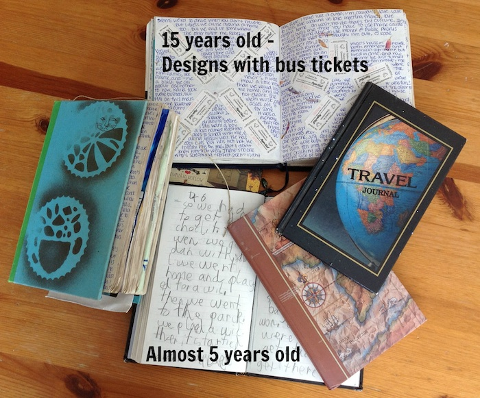 travel with kids journals