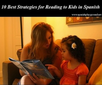 reading to kids in Spanish
