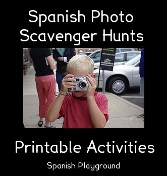 spanish photo scavenger hunts