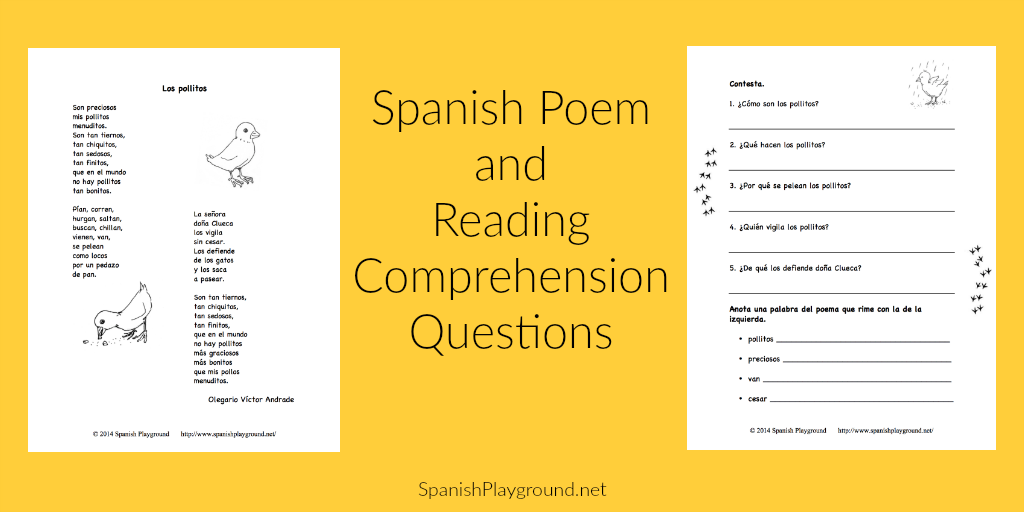 spanish poems for children Archives - Spanish Playground