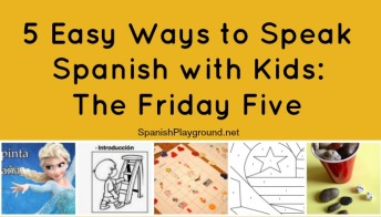 Activities for speaking spanish with kids
