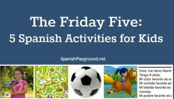 Easy spanish activities for kids.