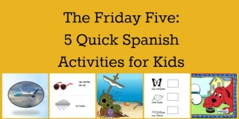 Five Spanish vocabulary activities that can be adpated for learners of different levels.
