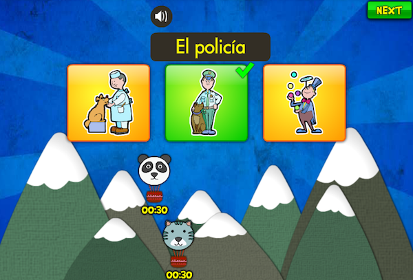 online spanish vocabulary