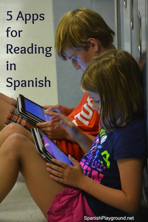 Apps for kids for reading in Spanish on the iPad and iPhone.