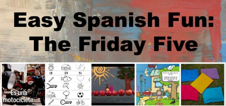 Easy Spanish activities for kids at a variety of levels.