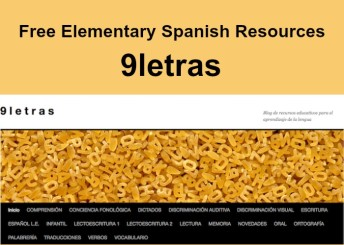 Elementary Spanish resources including worksheets and other printables.