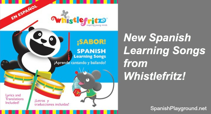 New Spanish learning songs from Whistlefritz.