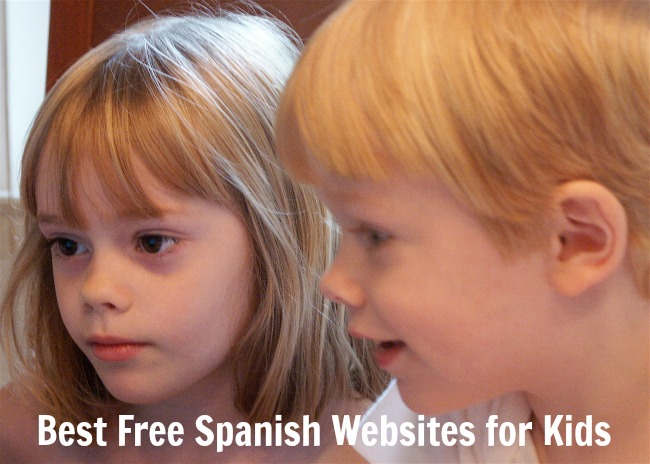 A list of the best websites for kids learning Spanish.