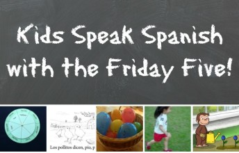 Five fun activities help kids speak Spanish.