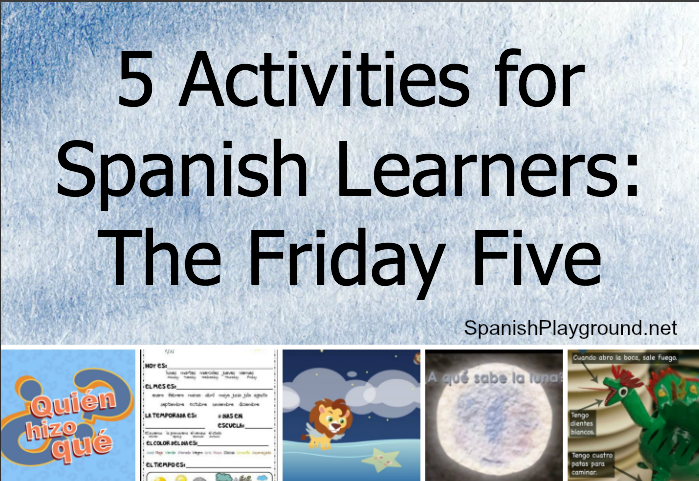 activities for Spanish learners