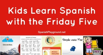 Kids learn Spanish with these easy activities.